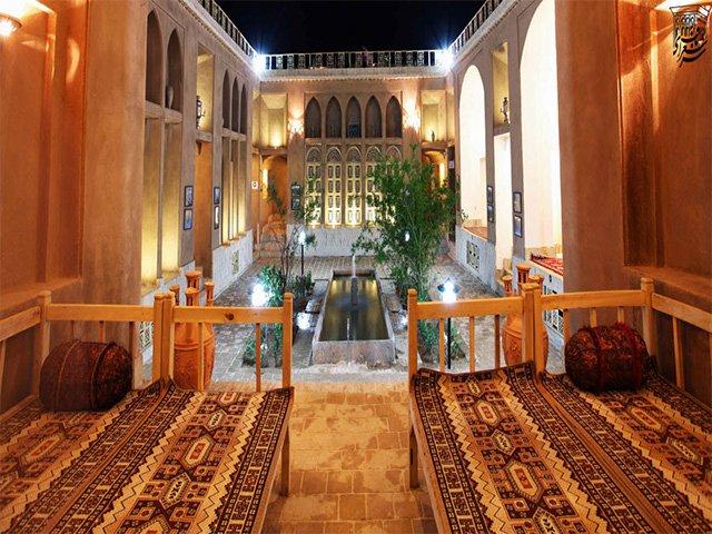 هتل شعرباف یزد