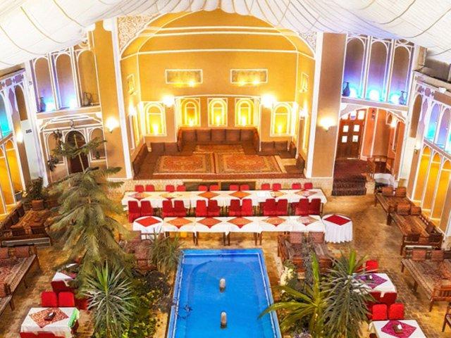 هتل سنتی مظفر یزد