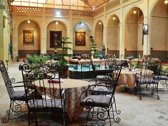 هتل باغ مرشد یزد